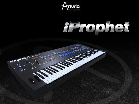 IProphet Synth For IPad, Demo, Tour And Lots Of Sounds