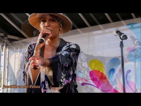 Monica @ Overtown Music & Arts Festival Miami  2017
