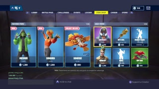 Fortnite/Item Shop Sgt Skins zurück?