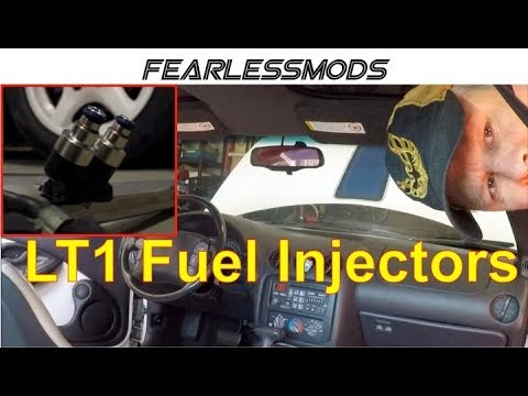 LT1 Fuel Injector Replacement
