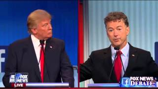"Rand Paul: Donald Trump ""is used to buying Politicians"""