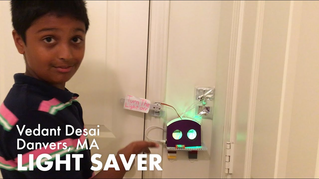 Vedant S Light Saver A Rule Your Room Kit Invention By
