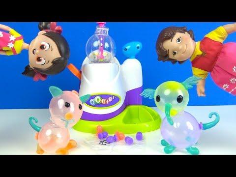 Niloya Ve Heidi Ile Oonies Balon Makinesinde Hayvan şekilleri Yapıp Balondan şekil Yapma Challenge