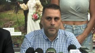Presentación de la nueva campaña de comercio con deportistas del municipio, Los Realejos