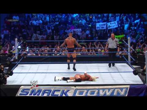 Randy Orton vs. Dolph Ziggler: SmackDown, Nov. 23, 2012