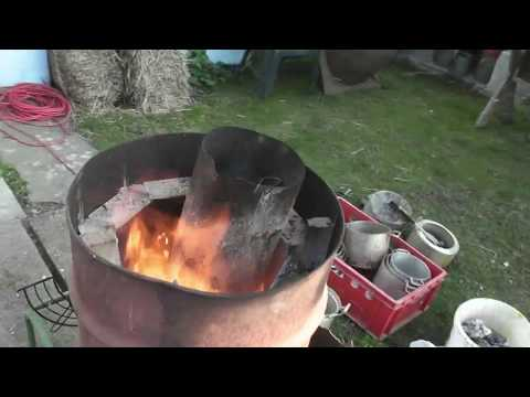 DIY Aluminium casting