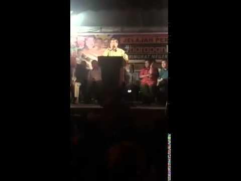 #HarapanBaru - Mat Sabu Ulas berkenaan GHB berwalikan DAP