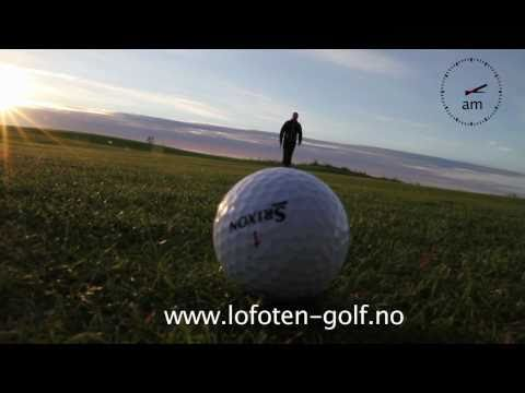 Play golf all night long - Lofoten in Norway