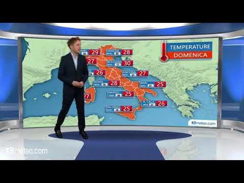 Italia weekend: piu sole, caldo estivo al Nord