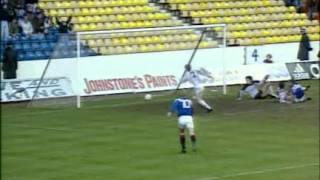 Season 1992-93 - Rangers Vs Motherwell (31st October 1992)
