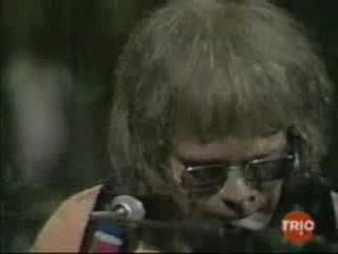 Elton John's American debut: Aug  25, 1970 at the Troubadour