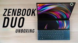 ASUS ZenBook Duo Unboxing - Dual-screen Laptop?!