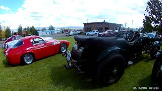 Array of cars starting out with Jaguars