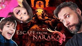 Muito CAOS escapando do inferno! Escape from Naraka (Gameplay em Português PT-BR)