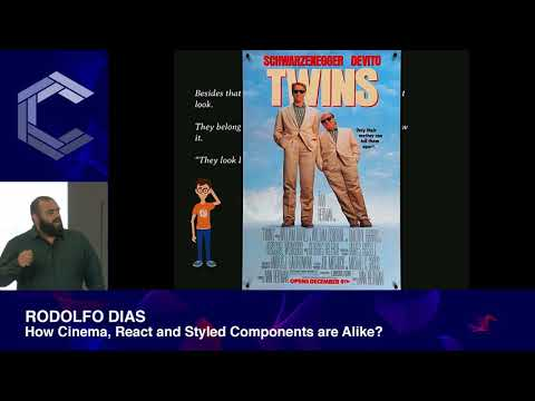 Rodolfo Dias | How Cinema, React and Styled Components are Alike | ComponentsConf 2019 thumbnail