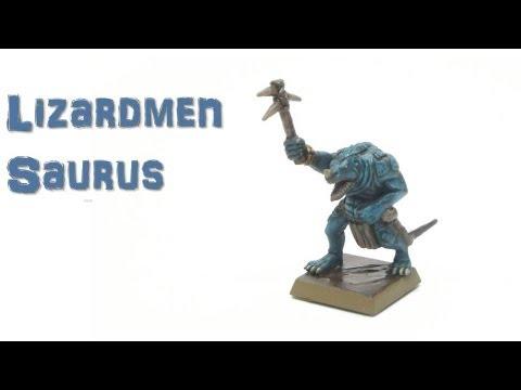How To Paint: Lizardmen Saurus