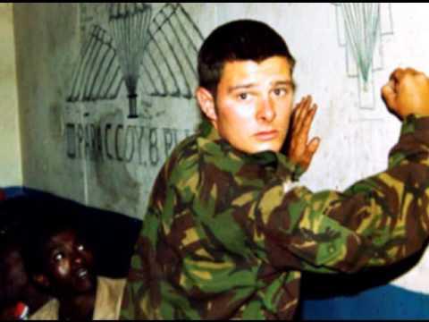 Ex-parachute regiment soldier & papparazzi - photographer Stuart Griffiths