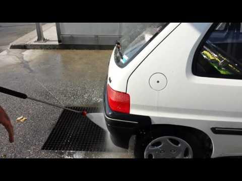 Le lavage haute pression LAV'CAR
