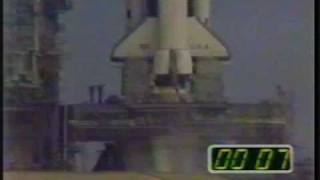 STS-3 launch & only landing at White Sands (3-22-82)