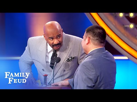 Women Like To Make Men Kiss Their... | Family Feud