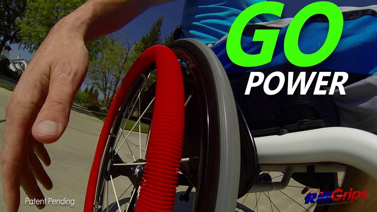 Wheelchair Grips Bath Lift Chairs Elderly Ribgrips Handrims Game Changing Youtube