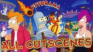 Futurama All Cutscenes | Full Game Movie (PS2, XBOX)