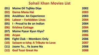 Sohail Khan Movies List
