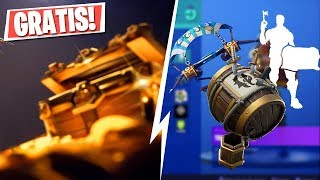 GET *NEW* FREE REWARDS IN FORTNITE!! Buccaneer's Booty Challenges (Battle Royale)