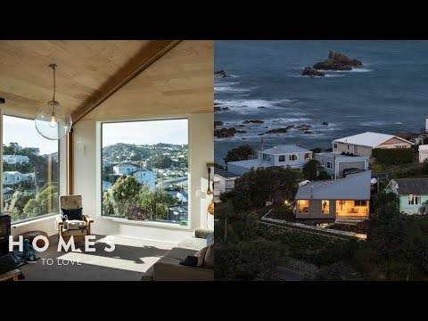 How This Home Was Designed To Work With Wellington's Ferocious Winds | Homes To Love