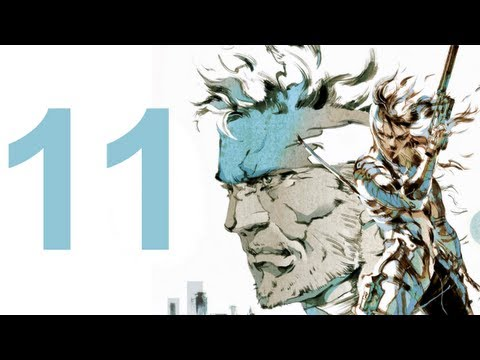 MGS 2 HD Collection - Walkthrough - Part 11 (No Commentary)
