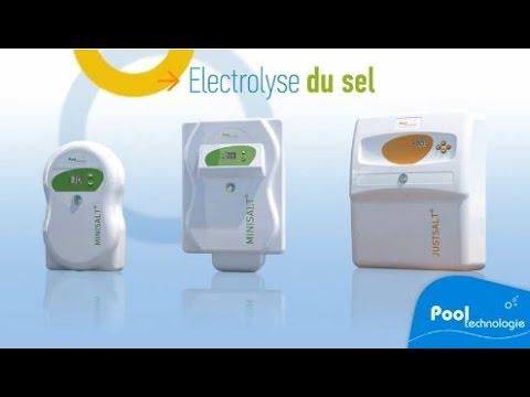 Pool technologie electrolyseur sel piscine r gulateur ph youtube - Electrolyseur de sel pour piscine ...