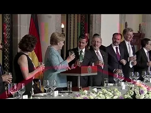 German Chancellor to fasten trade ties with Mexico