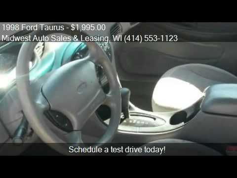 1998 Ford Taurus for sale in Milwaukee, WI 53210 at the Midw