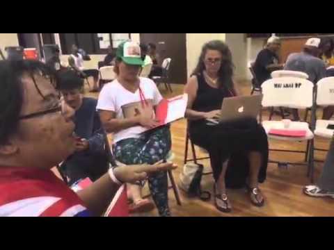 'Aha Aloha 'Āina ma Wai'anae gathering into Kino groups