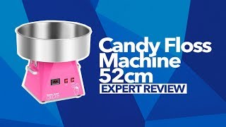 Candy Floss Machine - 52cm - Pink