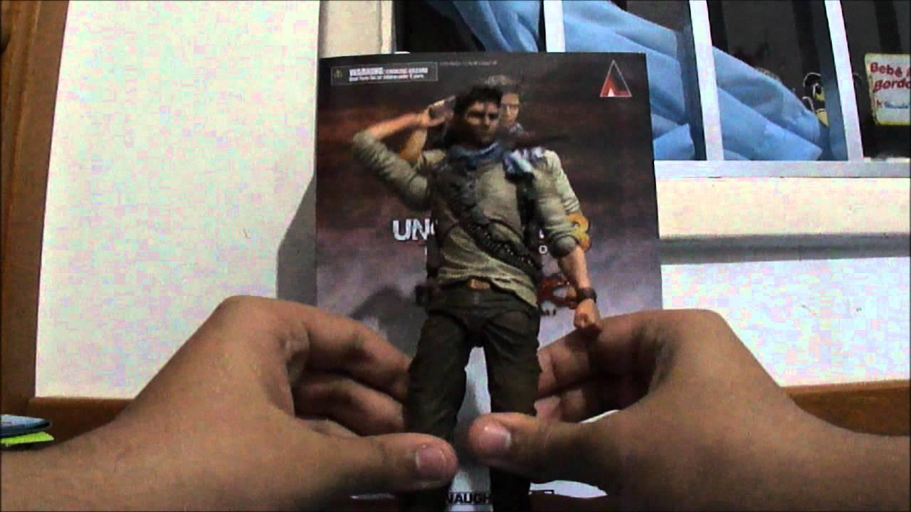 Unbox Uncharted 3 Drake S Deception Play Arts Kai Action Figure