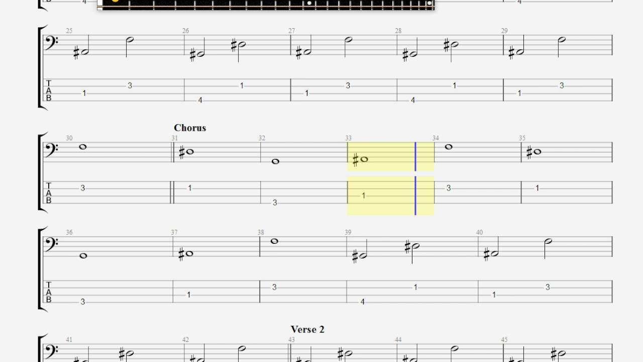 coldplay warning sign bass guitar tab youtube. Black Bedroom Furniture Sets. Home Design Ideas