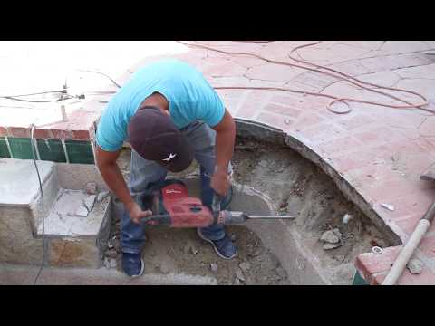 Leak Detection And Complete Bond Beam Repair On A Pool/Spa Combo With LeakTronics Equipment