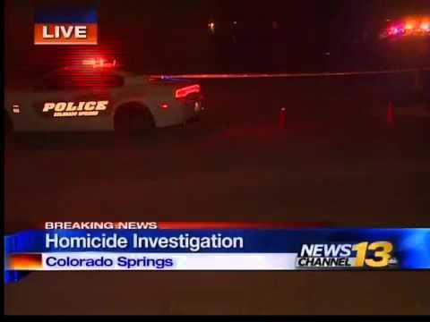 Possible homicide investigation in Colorado Springs