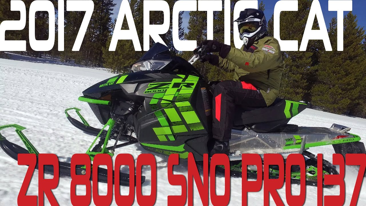 Stv 2017 Arctic Cat Zr 8000 Sno Pro 137