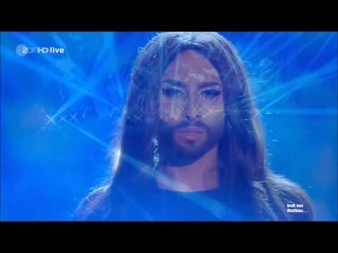 Conchita Wurst - Heroes [LIVE] - Wetten Dass 08.11.2014 [ZDF]