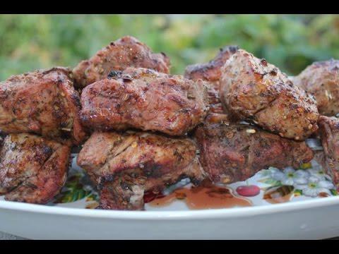 Рецепт сочного свиного шашлыка