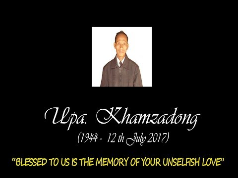 In Memoriam :(L) Upa. Khamzadong 1- By E. Muanthang