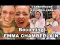TRANSFORMING INTO EMMA CHAMBERLAIN ♡  mahogany lox