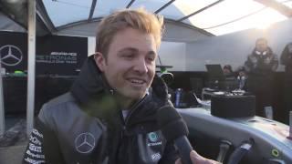 Motorsport meets Sindelfingen 2016 - Interviews with Nico Rosberg | AutoMotoTV