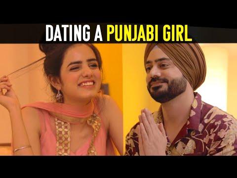 When You Date A Punjabi Girl | Ft. Rashmeet Kaur || Dilpreet Kohli