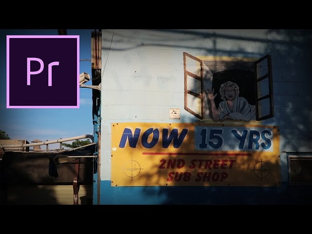 Adobe Premiere Pro CC Tutorial: How to create a Video Vignette Effect