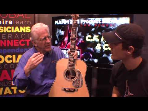 NAMM 2011 Product Showcase: Martin Guitars - 1.5 Millionth Guitar!