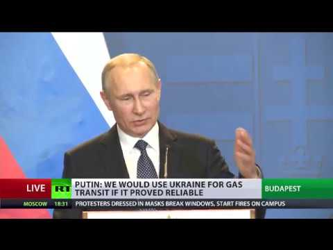 Putin on E. Ukraine flare-up: Kiev trying to extort US, EU, cash by playing the victim