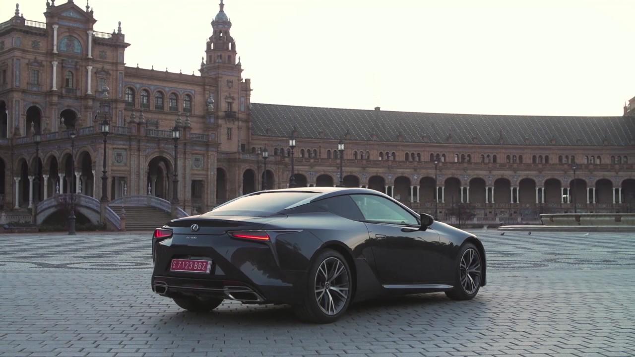 Lexus Lc 500 Exterior Design In Black Automototv Youtube